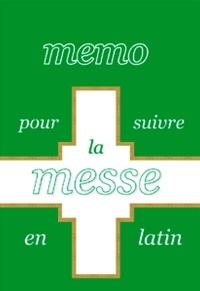 Saint Jude - Memo pour suivre la messe en latin.