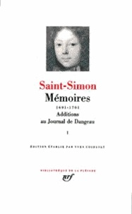 Saint-Simon - Mémoires 1691-1701 - Tome 1, Additions au journal de Dangeau.
