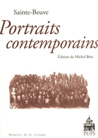 Sainte-Beuve - Portraits contemporains.