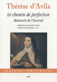 Sainte Thérèse d'Avila - Le chemin de perfection - Manuscrit de l'Escorial.