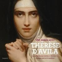 Histoiresdenlire.be Une année avec Thérèse d'Avila - Les plus beaux textes, à découvrir chaque jour et à méditer Image