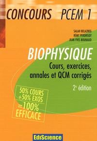 Biophysique Concours PCEM 1 - Cours, exercices, annales et QCM corrigés.pdf