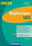 Salah Belazreg et Rémy Perdrisot - Biophysique UE 3 - Cours, exercices, annales et QCM corrigés.