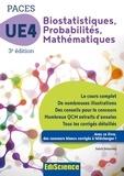 Salah Belazreg - Biostatistiques Probabilités Mathématiques-UE 4 PACES - 3e ed. - Manuel, cours + QCM corrigés.