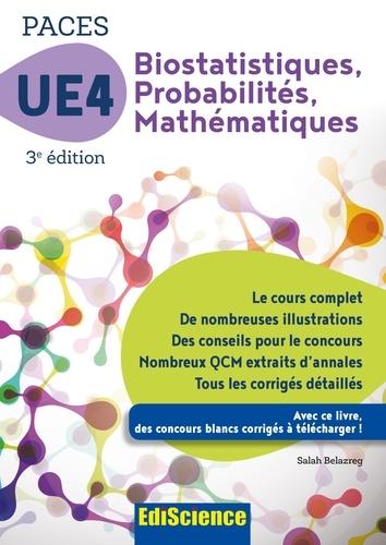 Biostatistiques Probabilités Mathématiques-UE 4 PACES - Salah Belazreg - Format PDF - 9782100753161 - 14,99 €