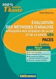 Salah Belazreg - Evaluation des méthodes d'analyse appliquées aux sciences de la vie et de la santé UE4 - Paces.