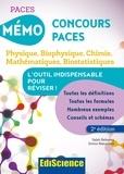 Salah Belazreg et Simon Beaumont - Mémo concours PACES - Physique, biophysique, chimie, mathématiques, biostatistiques.