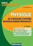 Salah Belazreg - Physique au concours d'entrée Masseur-Kinésithérapeute - 2e édition.