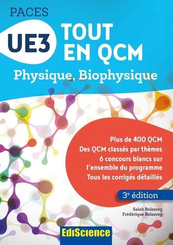 UE3 Tout en QCM PACES - Format PDF - 9782100755653 - 12,99 €
