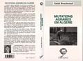 Salah Bouchemal - Mutations agraires en Algérie.
