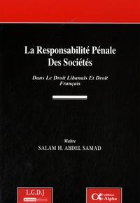 Ucareoutplacement.be La responsabilité pénale des sociétés dans le droit libanais et le droit français Image