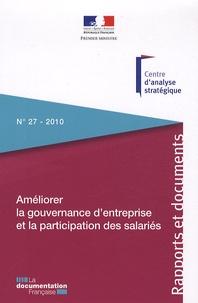 Salima Benhamou - Améliorer la gouvernance d'entreprise et la participation des salariés.