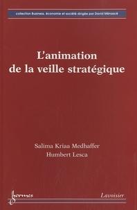 L'animation de la veille stratégique - Salima Kriaa Medhaffer |