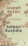 Salman Rushdie - Joseph Anton - Une autobiographie.