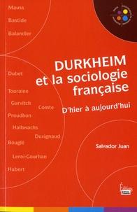 Durkheim et la sociologie française - Dhier à aujourdhui.pdf