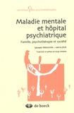 Salvador Minuchin et Joel Elizur - Maladie mentale et hôpital psychiatrique - Famille, psychothérapie et société.