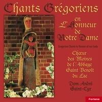 Anonyme - 20 chants grégoriens en l'honneur de Notre-Dame.