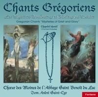 Anonyme - 3 chants grégoriens : les mystères douloureux et glorieux du rosaire.