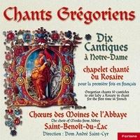 Anonyme - 5 chants grégoriens : 10 cantiques à Notre-Dame.