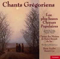 Anonyme - 6 chants grégoriens : les plus beaux choeurs populaires - Volume 1.