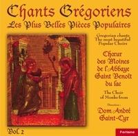 Anonyme - 7 chants grégoriens : les plus belles pièces populaires - Volume 2.