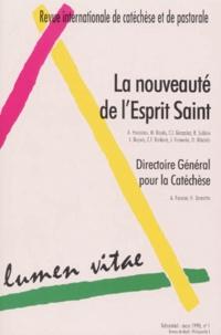 C-I Gonzalez et Roland Sublon - Lumen Vitae N° 1, Volume 53, Mar : La nouveauté de l'esprit sain - Directoire général pour la Catéchèse.