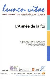 Henri Derroitte - Lumen Vitae N° 2013/4, octobre-n : L'Année de la foi.