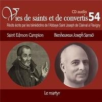 Vies de saints et convertis - Saint Edmon Campion - Bienheureux Joseph Samso.pdf