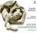 Capella Luscinia - Vocem Jucunditatis. 1 CD audio MP3