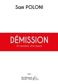 Deedr.fr Démission - 57 années d'errance Image