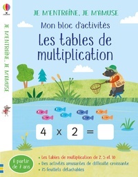 Sam Smith et Maddie Frost - Mon bloc d'activités Les tables de multiplication.