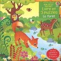 Sam Taplin et Federica Iossa - La forêt - Avec un livre cartonné et 3 puzzles de 9 pièces.