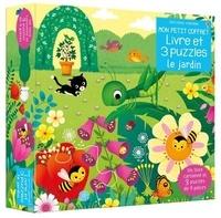 Sam Taplin et Federica Iossa - Le jardin - Avec 1 livre cartonné et 3 puzzles de 9 pièces.
