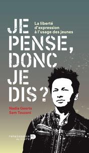 Sam Touzani - Je pense donc je dis ?.