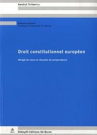 Deedr.fr Droit constitutionnel européen - Abrégé de cours et résumés de jurisprudence Image