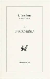 Sambuc - L'Eau-forte N° 11 : Faussaires.