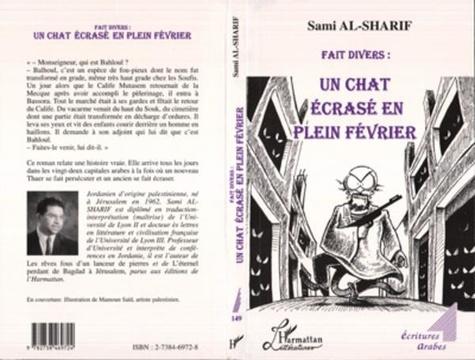 Sami Al-Sharif - Fait divers, un chat écrasé en plein février.
