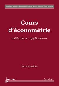 Sami Khedhiri - Cours d'économétrie : méthodes et applications.