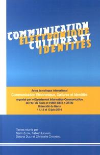 Sami Zlitni et Fabien Liénard - Communication électronique, cultures et identités.