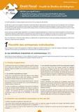 Samir Bourokba - Droit fiscal - Fiscalité des bénéfices des entreprises.