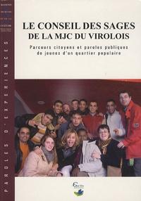 Samir Hamrit et Naïm Alami - Le conseil des sages de la MJC du Virolois - Parcours citoyen et paroles publiques de jeunes d'un quartier populaire.