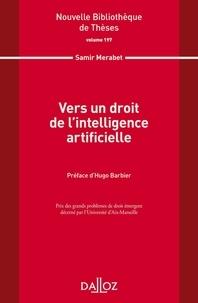 Samir Merabet - Vers un droit de l'intelligence artificielle.