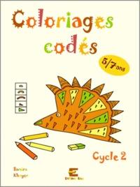 Samira Khayer - Fichiers coloriages codés 5/7 ans.