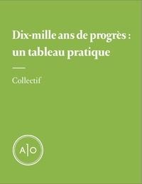 Samuel Archibald et Nicolas Charette - Dix-mille ans de progrès: un tableau pratique.