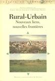 Samuel Arlaud et Yves Jean - Rural-Urbain - Nouveaus liens, nouvelles frontières.