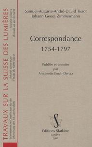 Samuel-Auguste Tissot - Correspondance - 1754-1797.