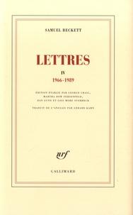 Samuel Beckett - Lettres IV - (1966-1989).
