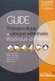 Samuel Boucher et Béatrice Bouquet - Guide thérapeutique et clinique vétérinaire - Animaux de rente.