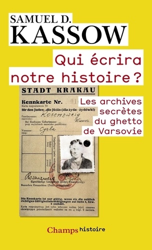 Les Archives Secrètes Du Ghetto De Varsovie