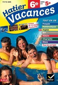 Samuel Douhaire et Jean-Pierre Burriat - Hatier Vacances 6e.